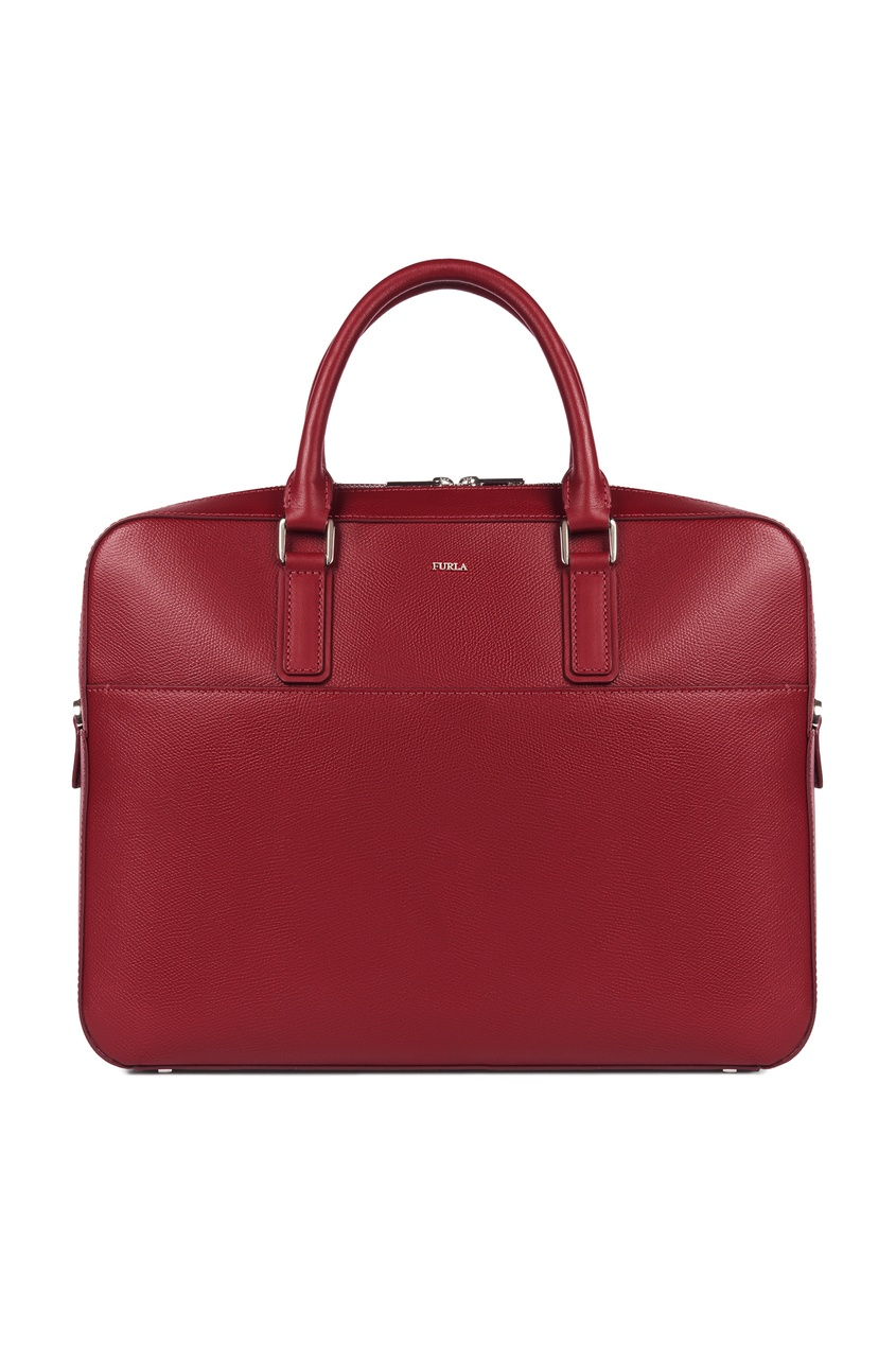 мужской портфель furla, бордовый