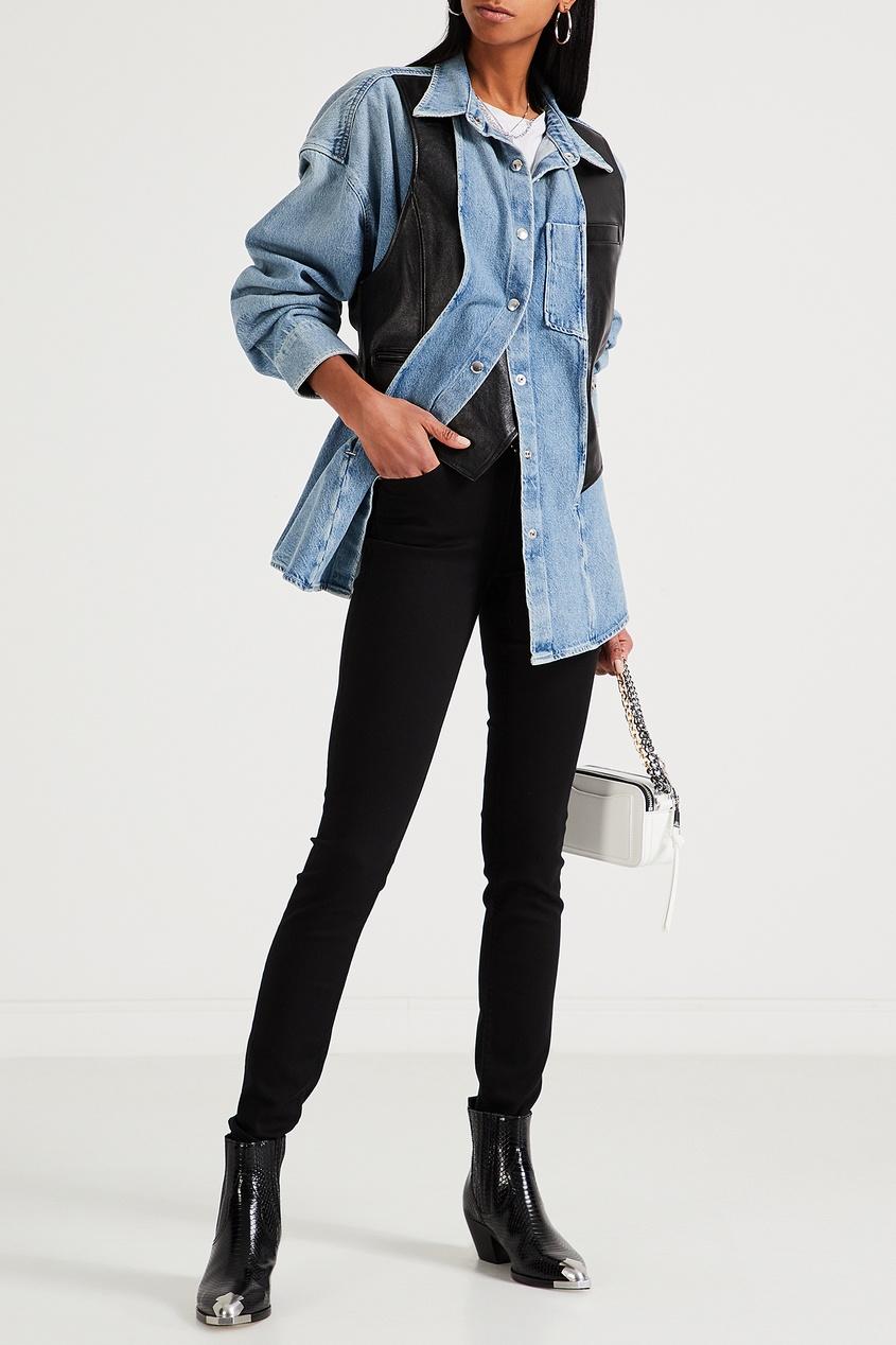 Узкие джинсы черного цвета от Calvin Klein