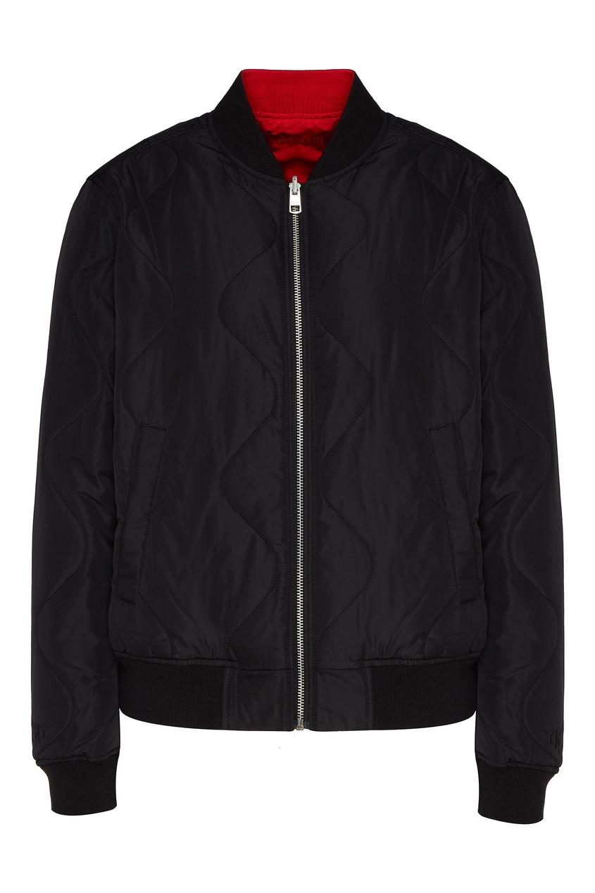 Двухсторонняя куртка-бомбер от Calvin Klein