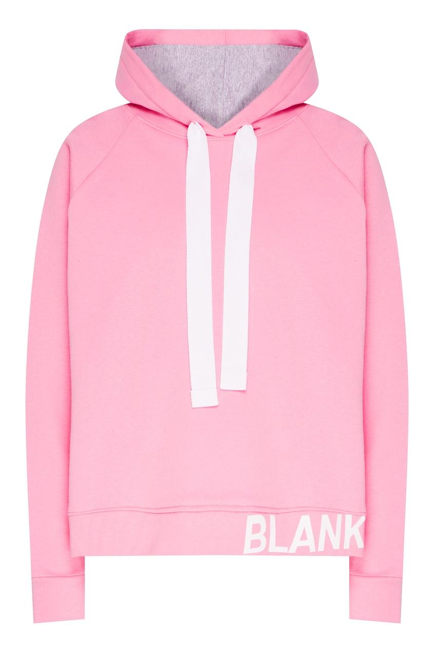 женские худи blank.moscow, розовые