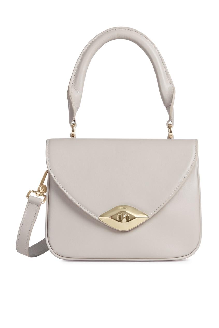 женская сумка furla, белая