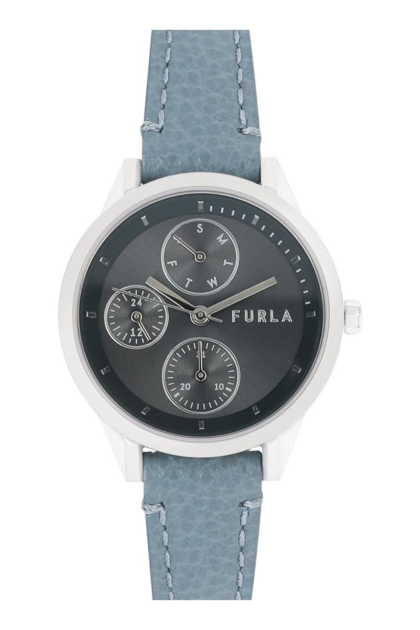 Часы с голубым ремешком Sport