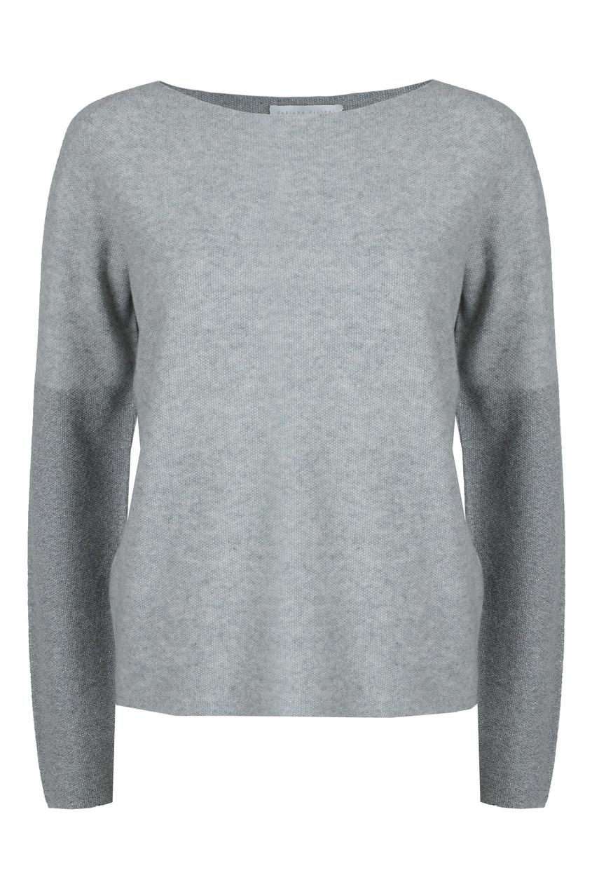 женский пуловер fabiana filippi, серый