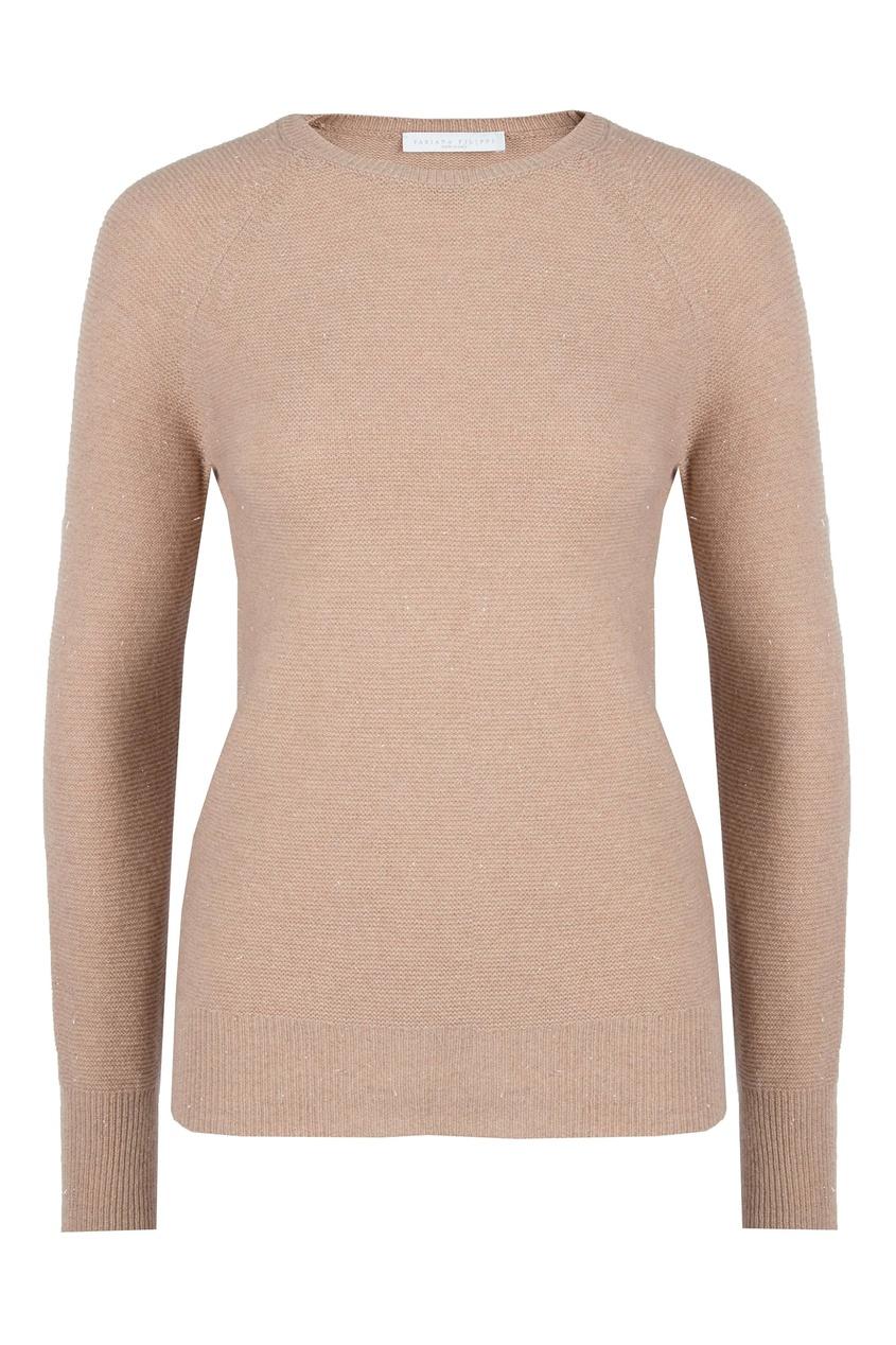 женский пуловер fabiana filippi, розовый