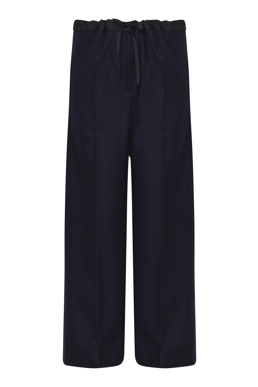 женские брюки jil sander navy, синие