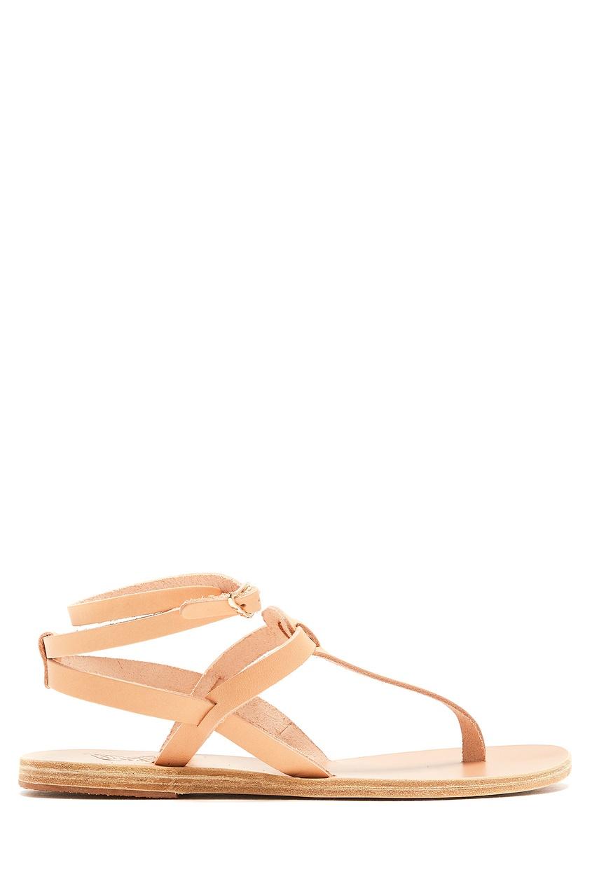 женские сандалии ancient greek sandals, бежевые