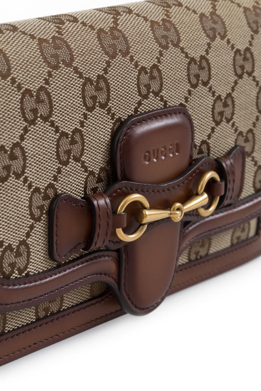 Gucci Кожаный кошелек Lady Web
