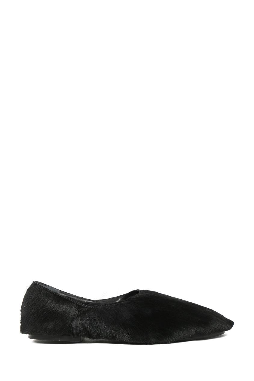 женские туфли jil sander navy, черные