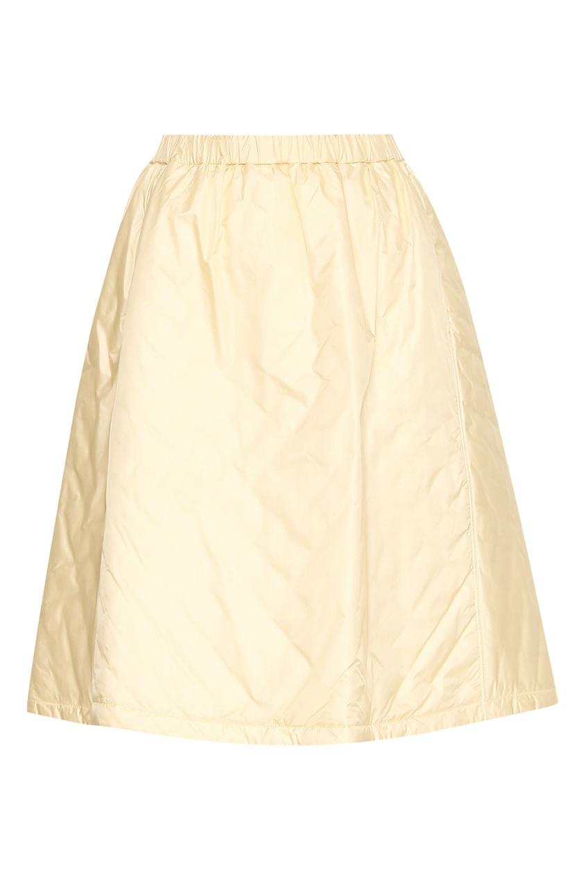 Стеганая юбка на резинке Jil Sander