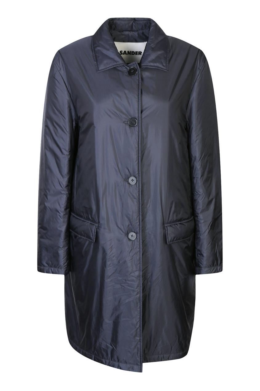 женское пальто jil sander navy, синее