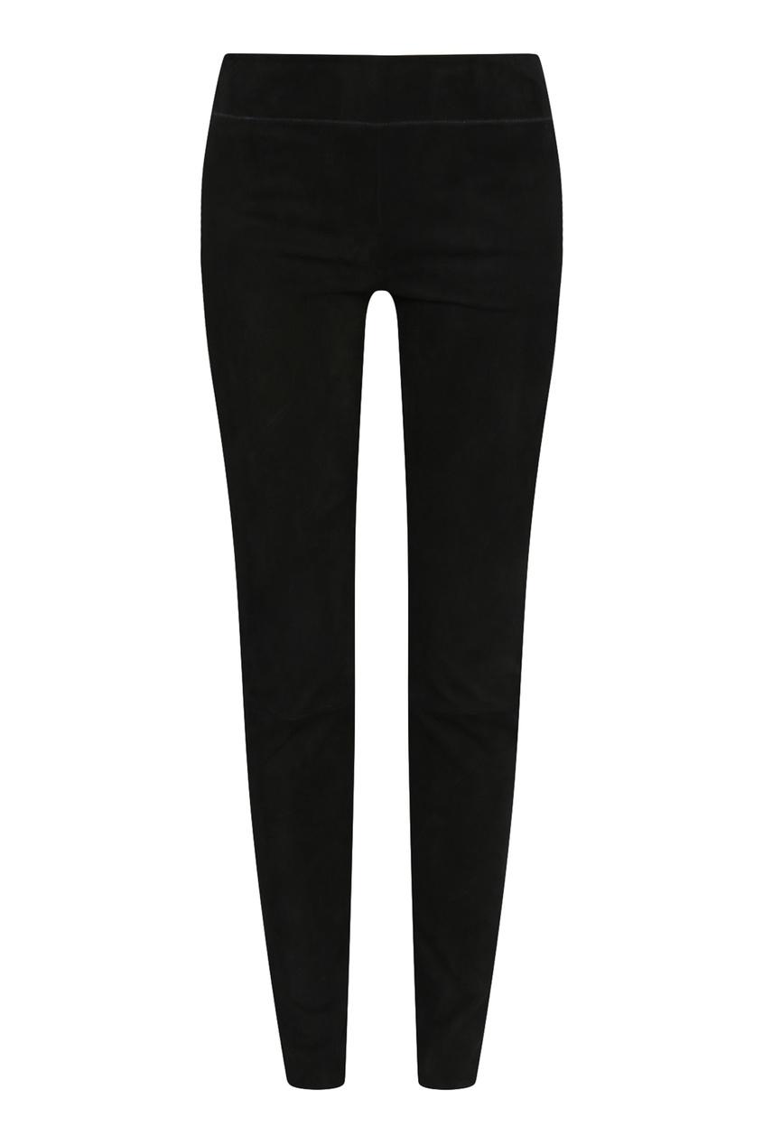 женские брюки jil sander navy, черные