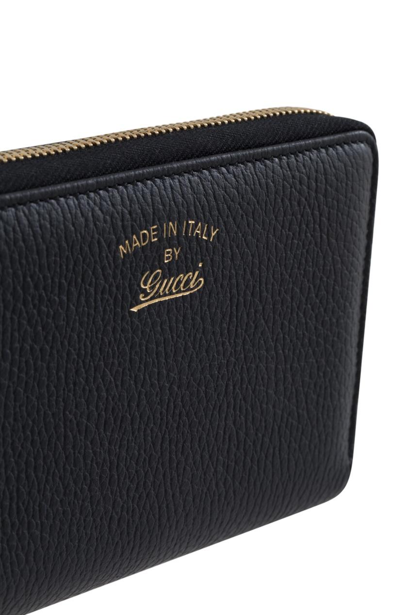 Кожаный кошелек Gucci swing
