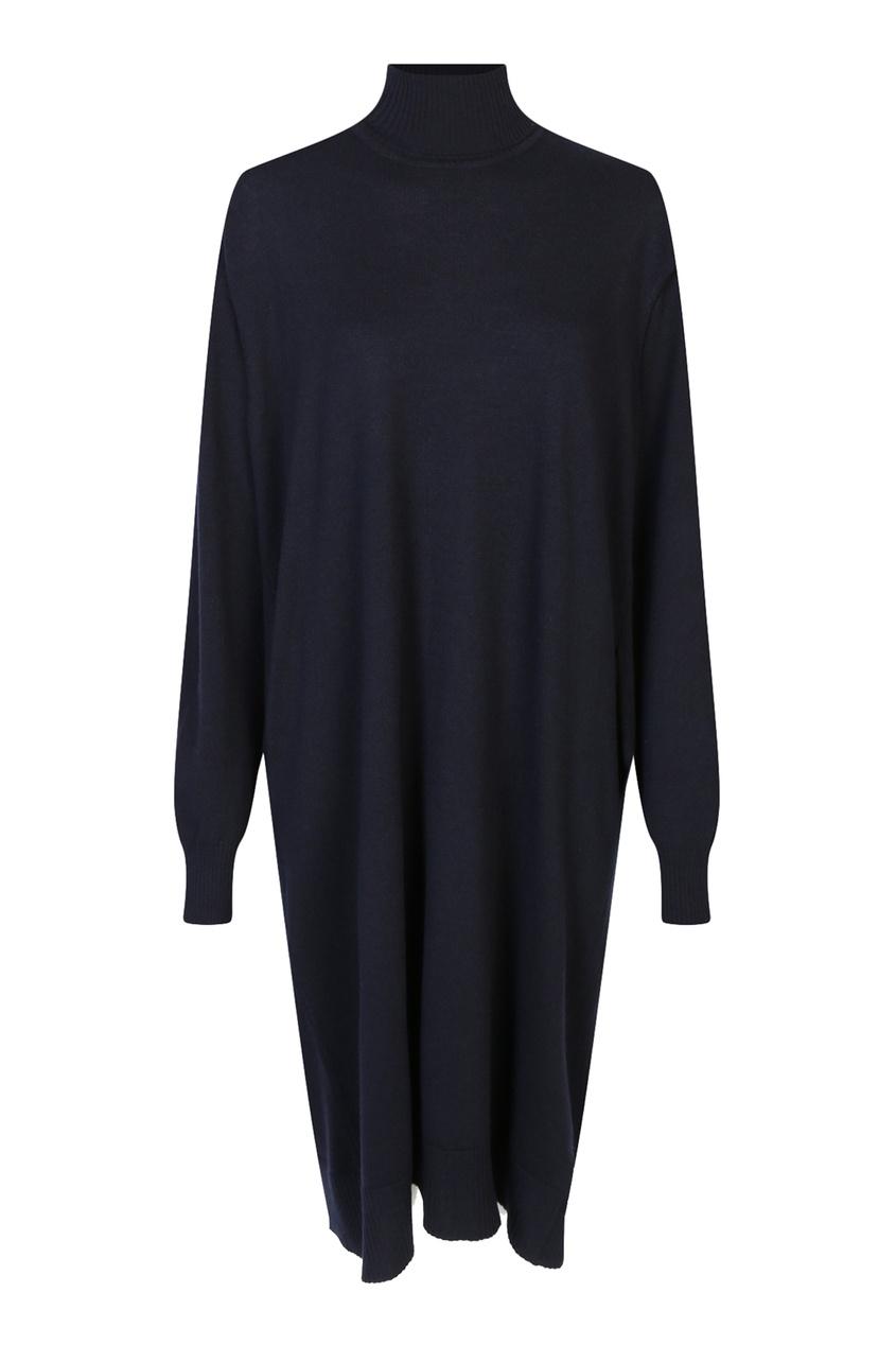 женское платье jil sander navy, синее