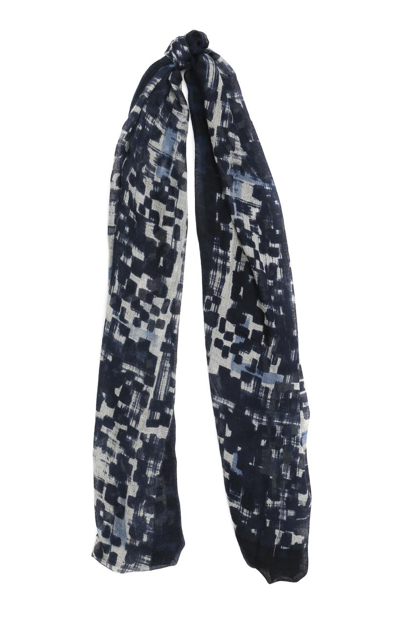 мужской шарф 18th amandment, синий