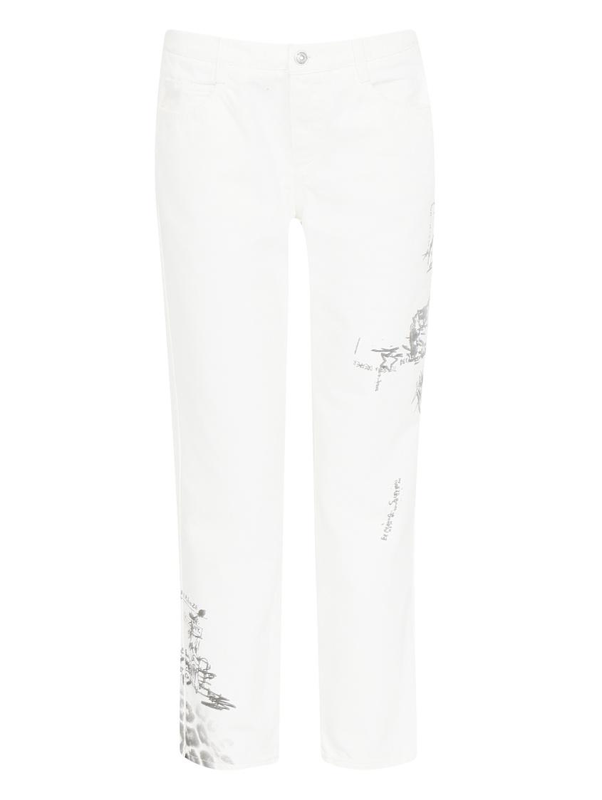 женские джинсы ermanno scervino, белые