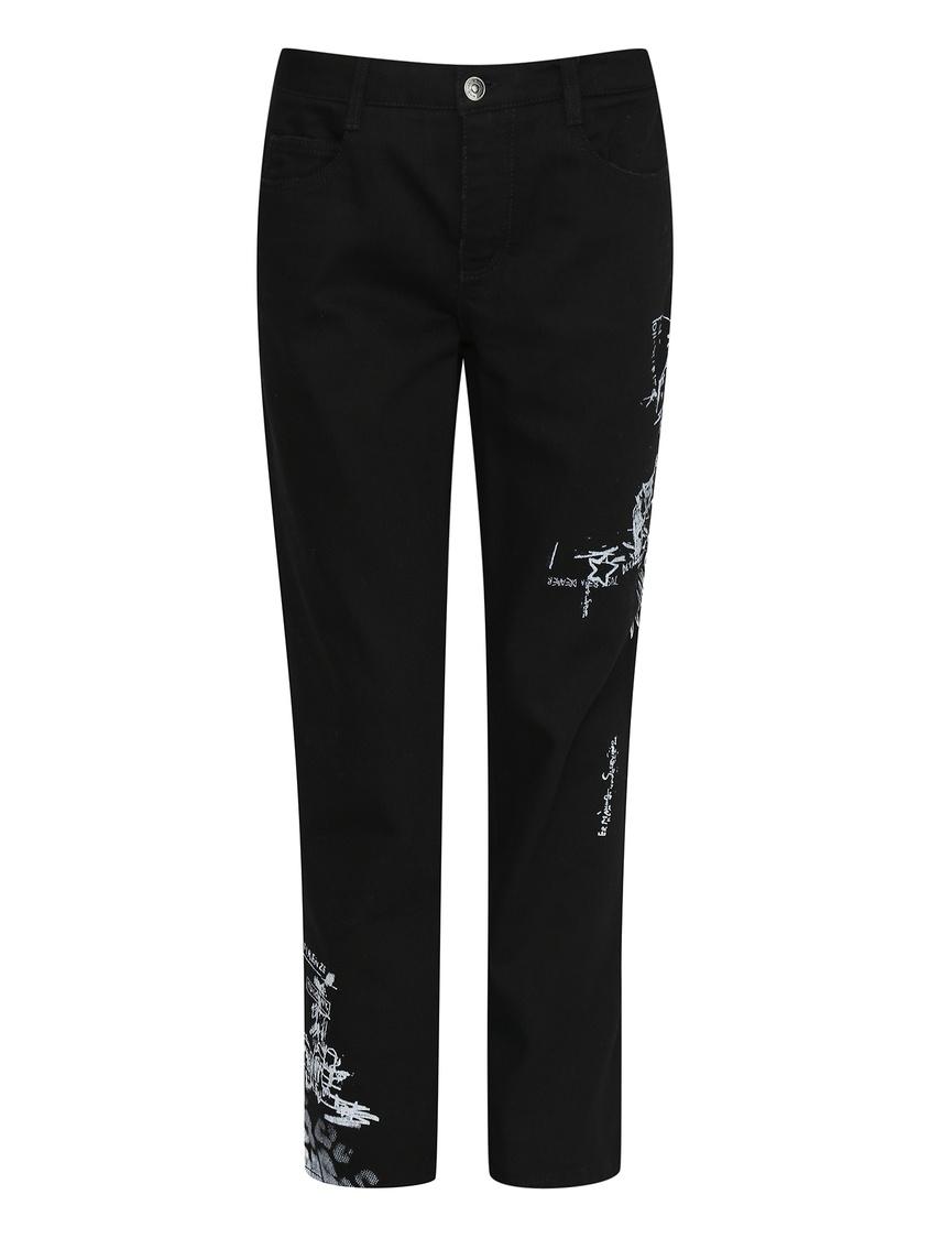 женские джинсы ermanno scervino, черные