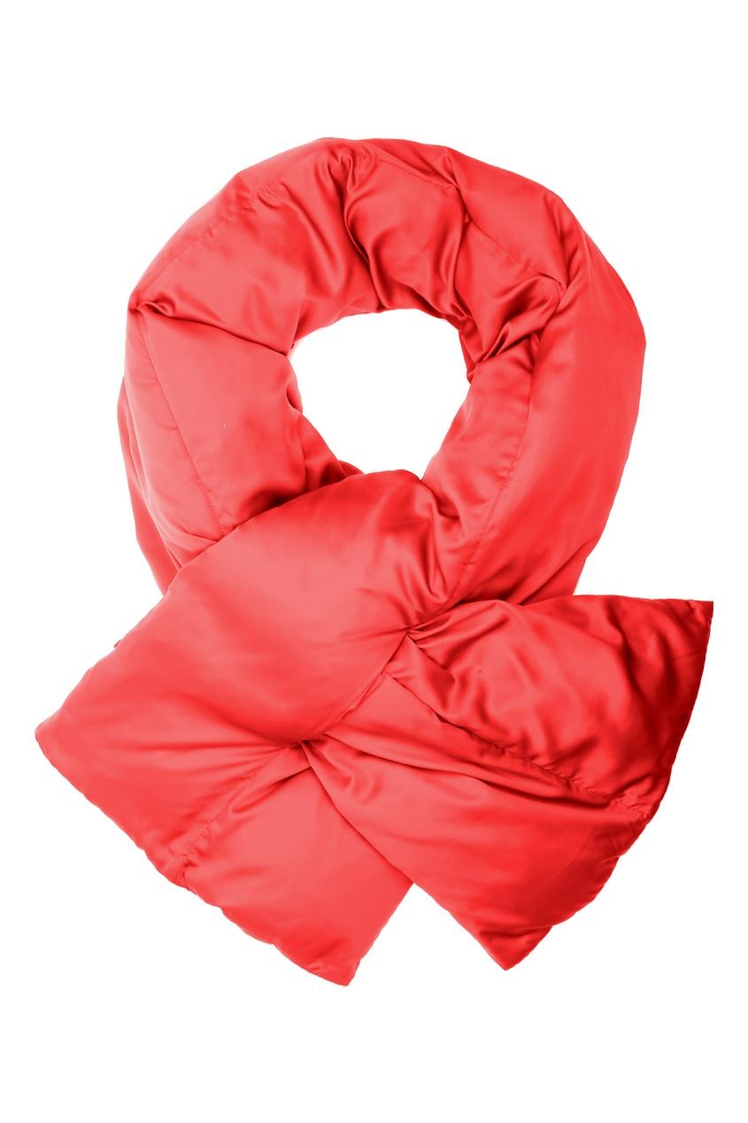 женский шарф marina rinaldi, красный
