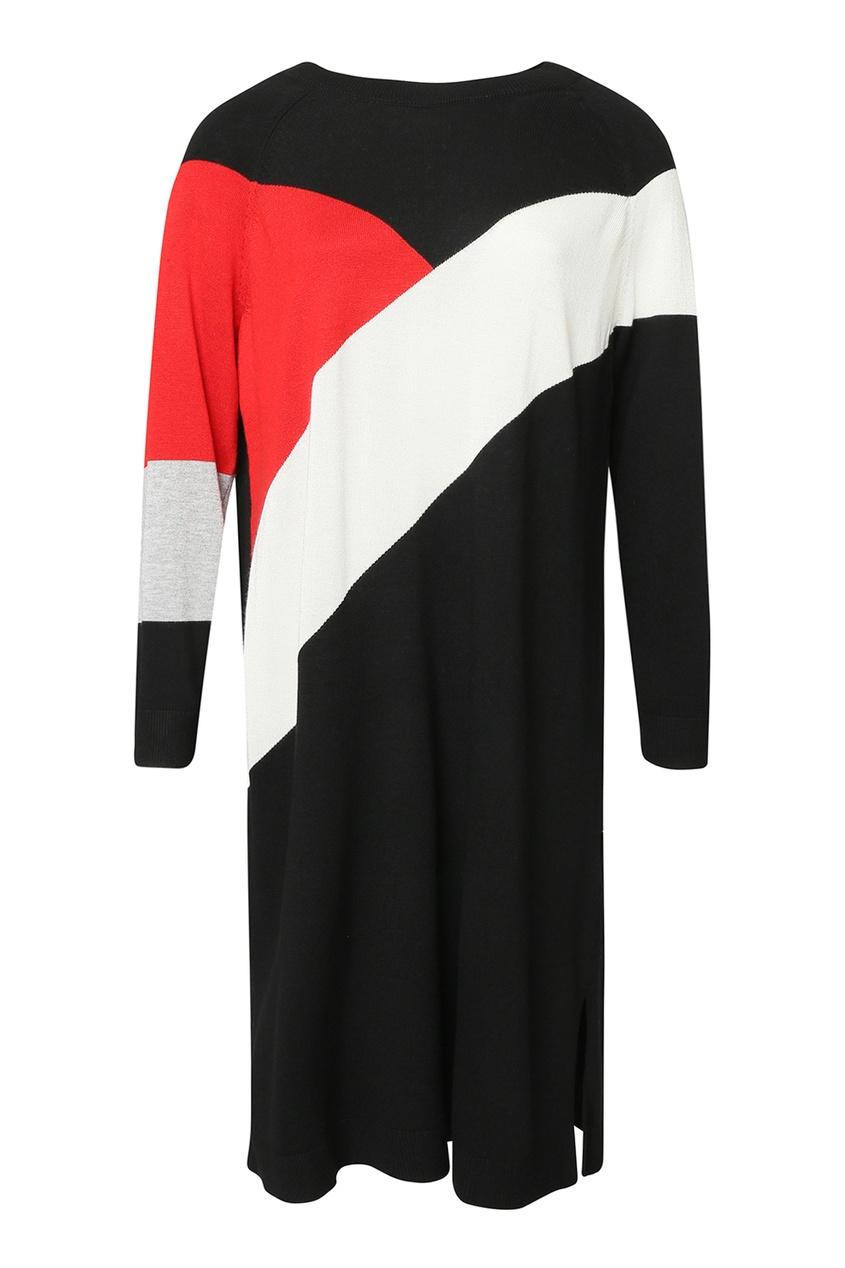Трикотажное платье с цветными блоками от Marina Rinaldi