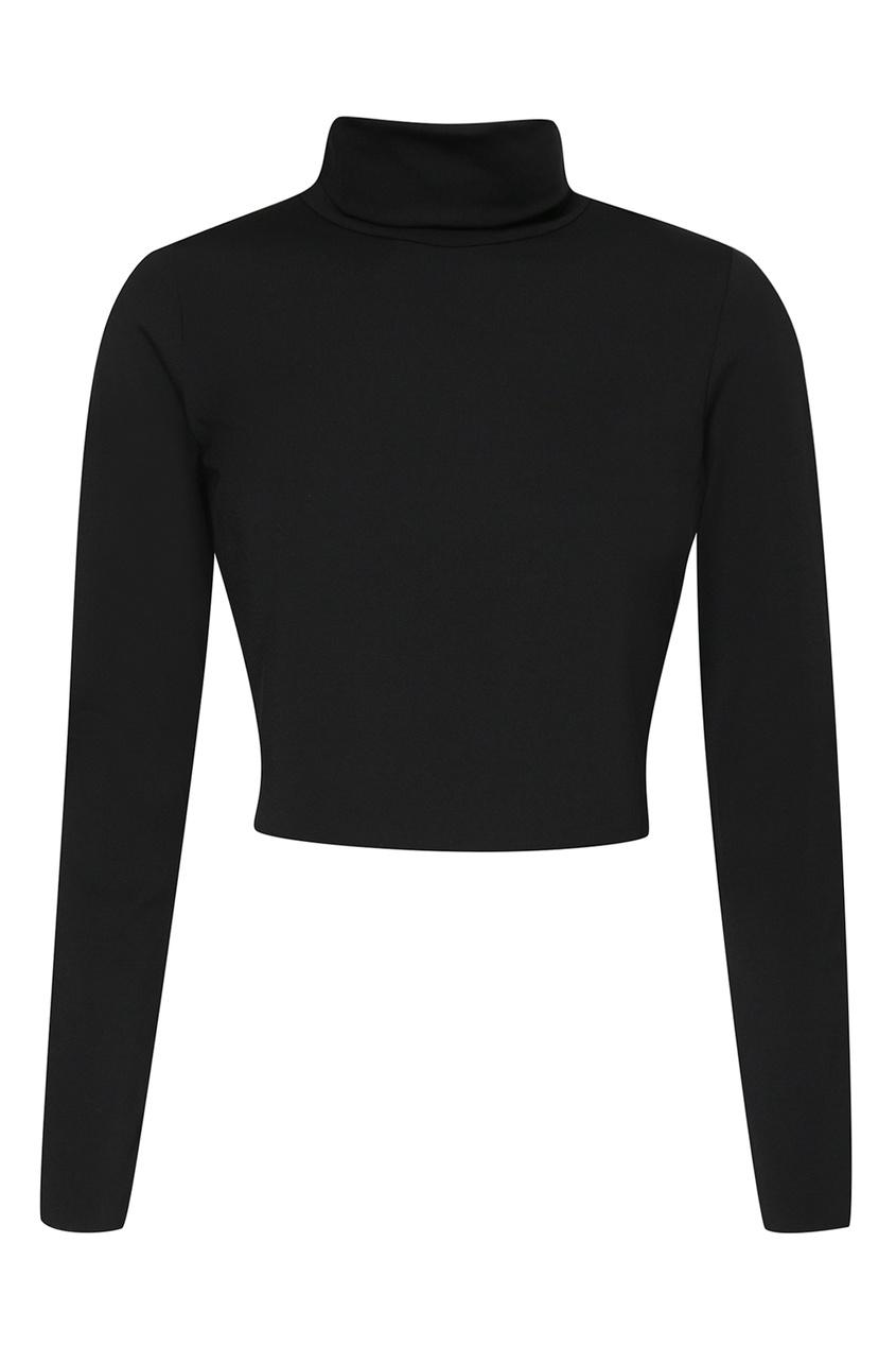 женская водолазка marina rinaldi, черная
