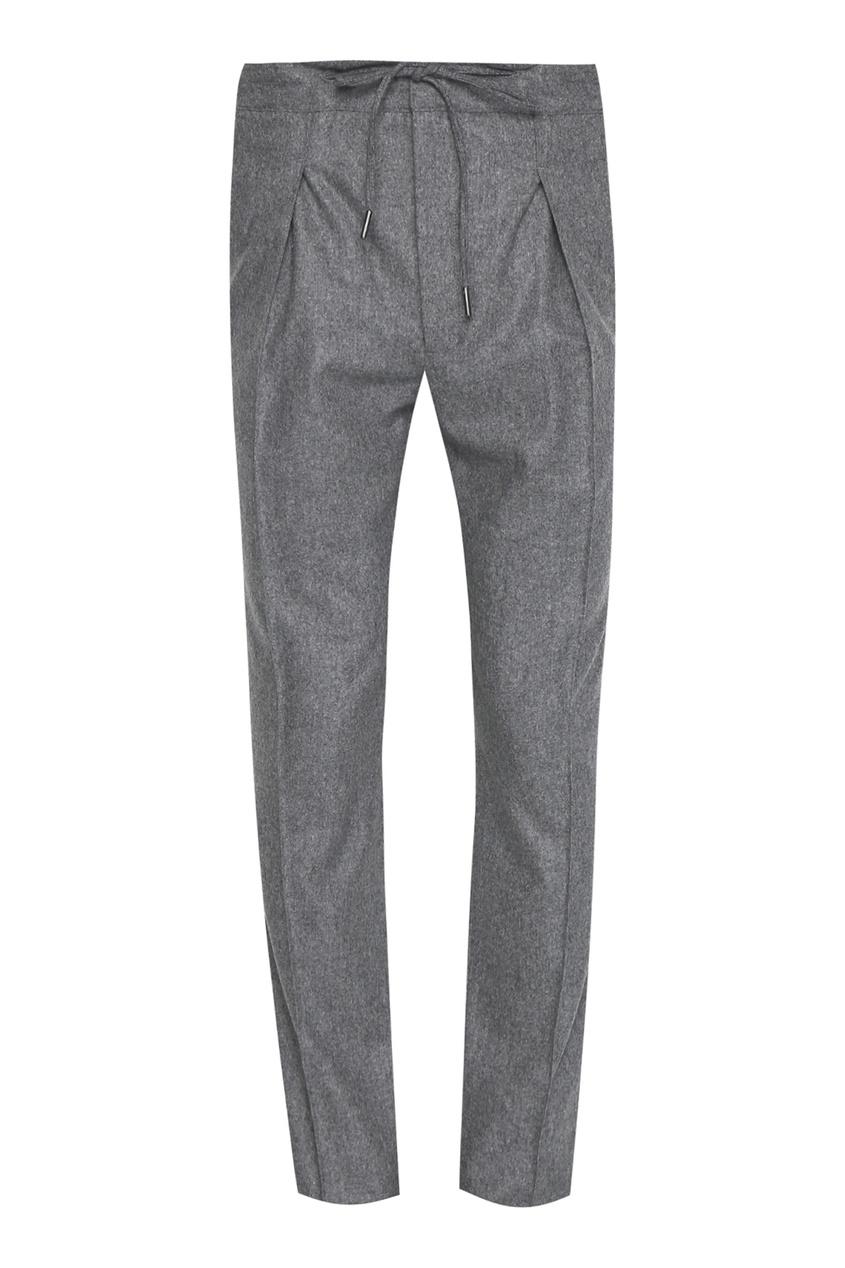 мужские брюки isaia, серые
