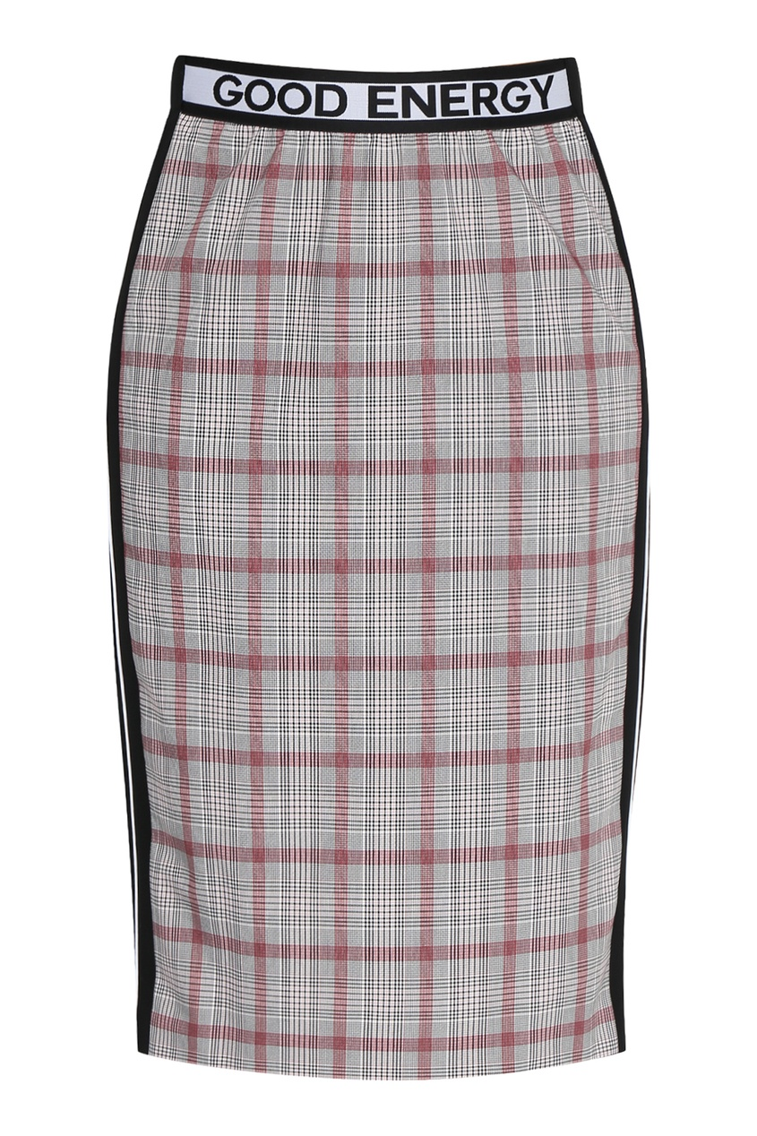 женская юбка-карандаш marina rinaldi, серая
