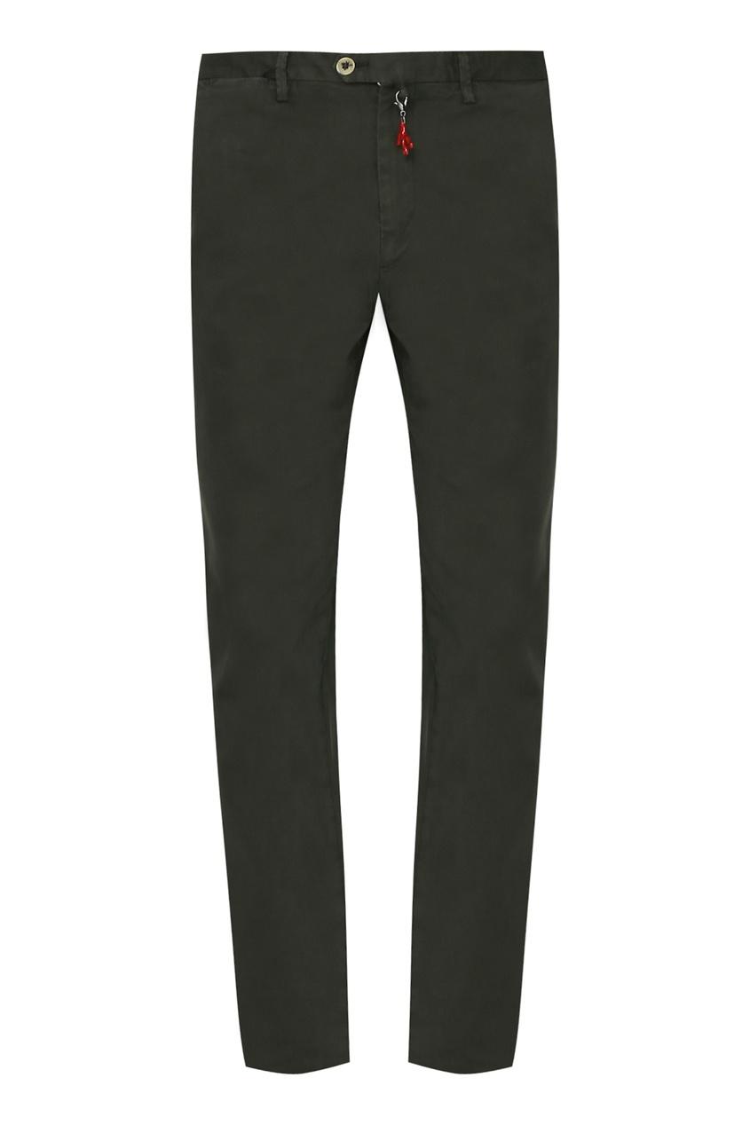 мужские брюки isaia, зеленые