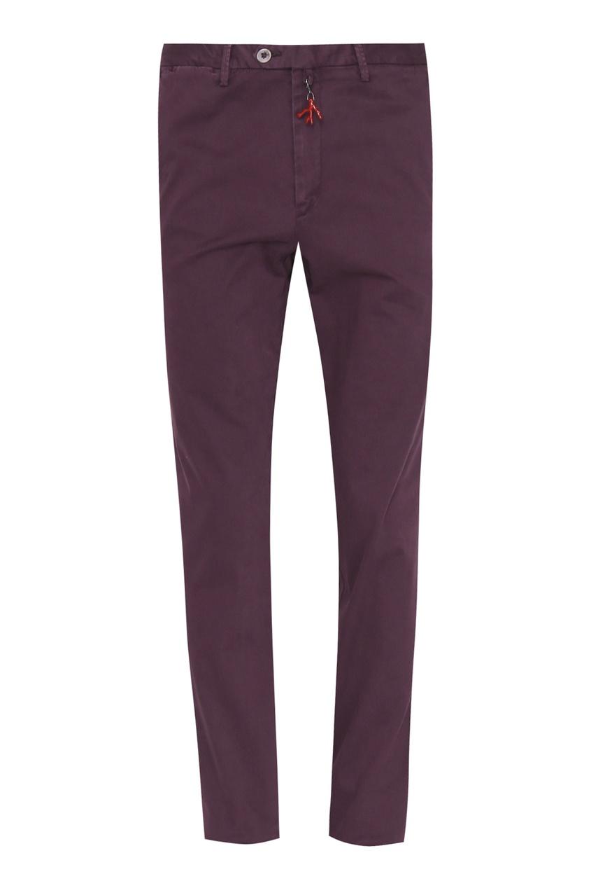 мужские брюки isaia, фиолетовые