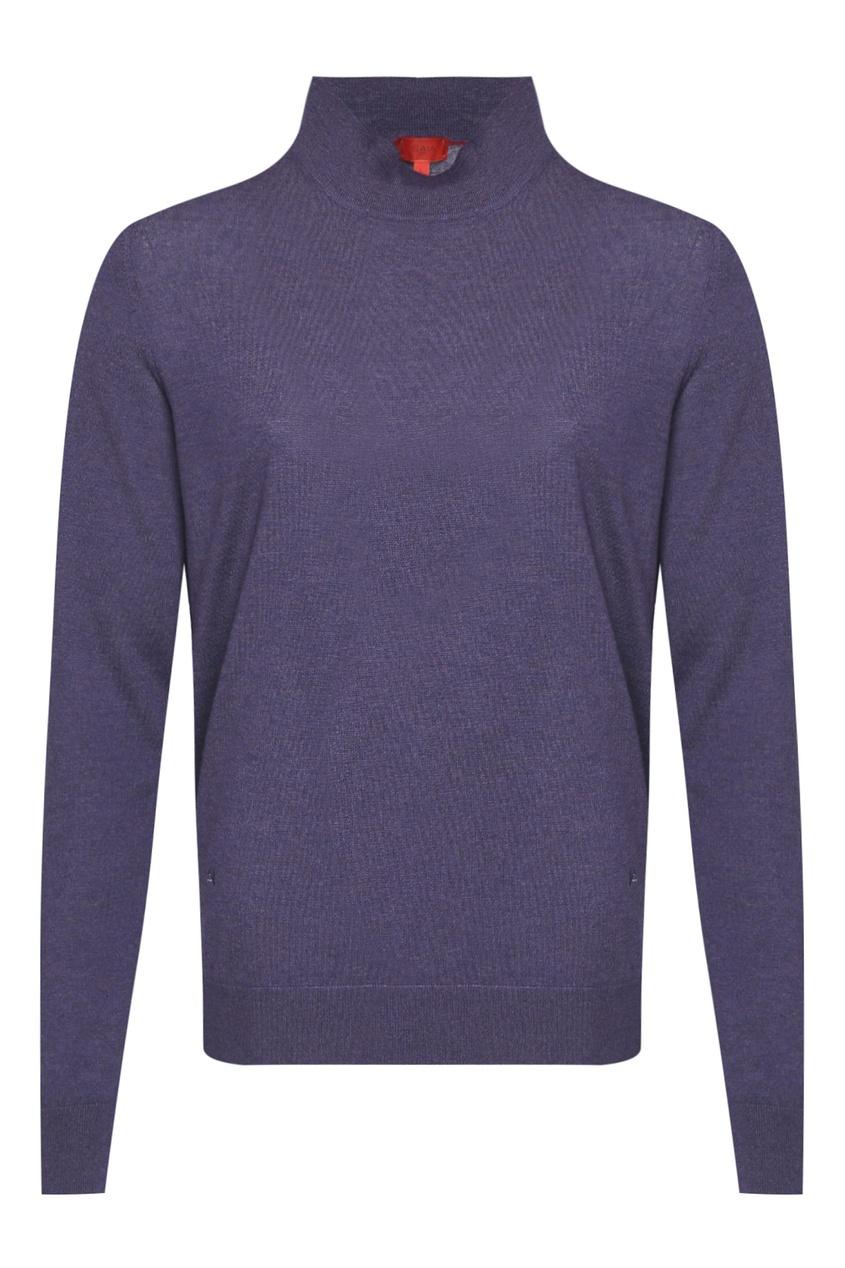 мужская водолазка isaia, фиолетовая