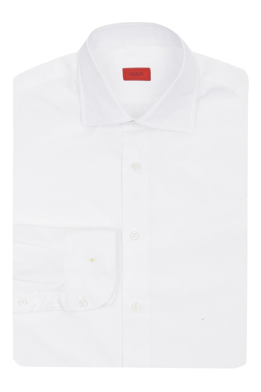 мужская рубашка isaia, белая