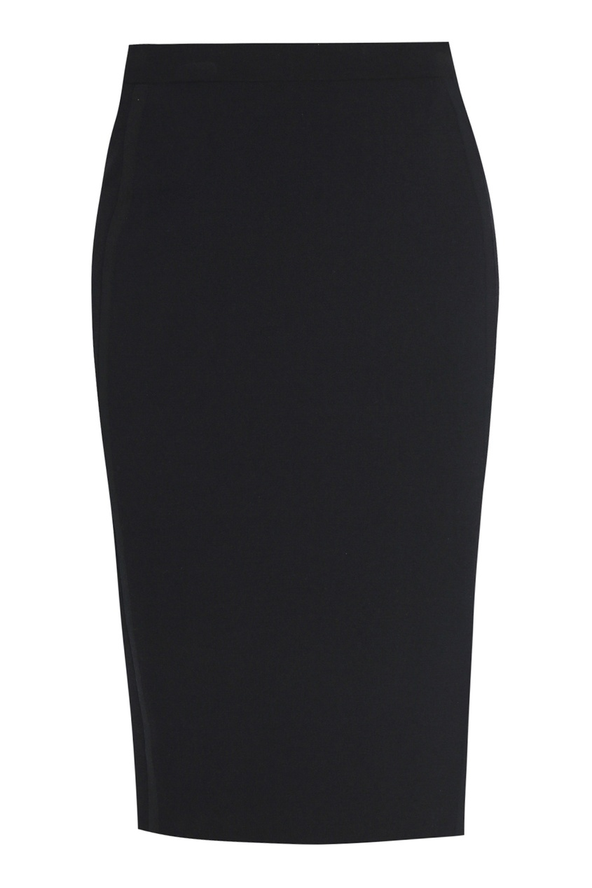 женская юбка-карандаш marina rinaldi, черная