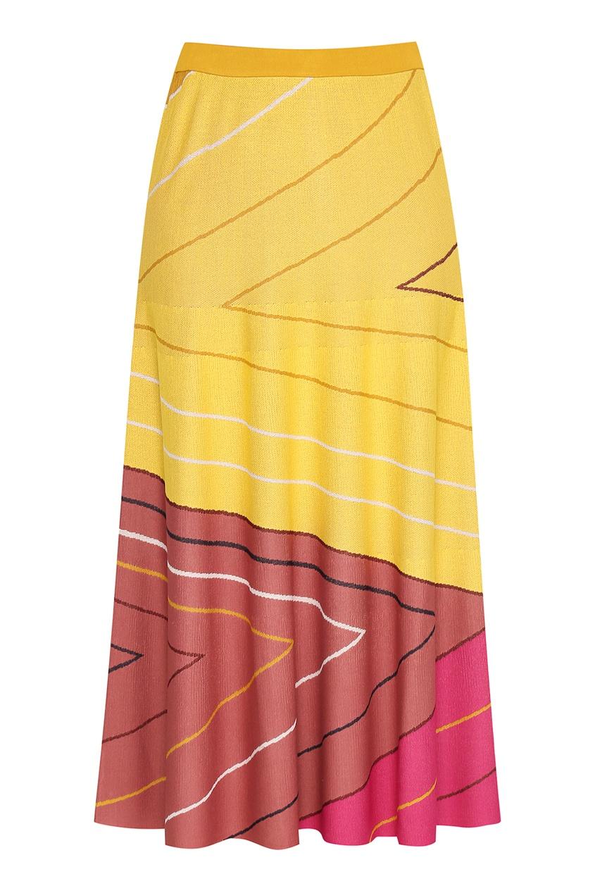 женская юбка marina rinaldi, розовая