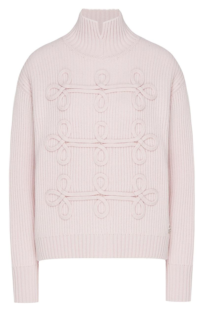 женский свитер karl lagerfeld, розовый