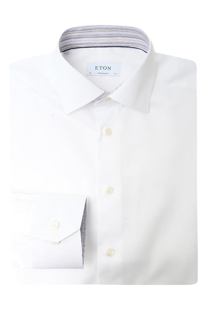 мужская рубашка eton, белая