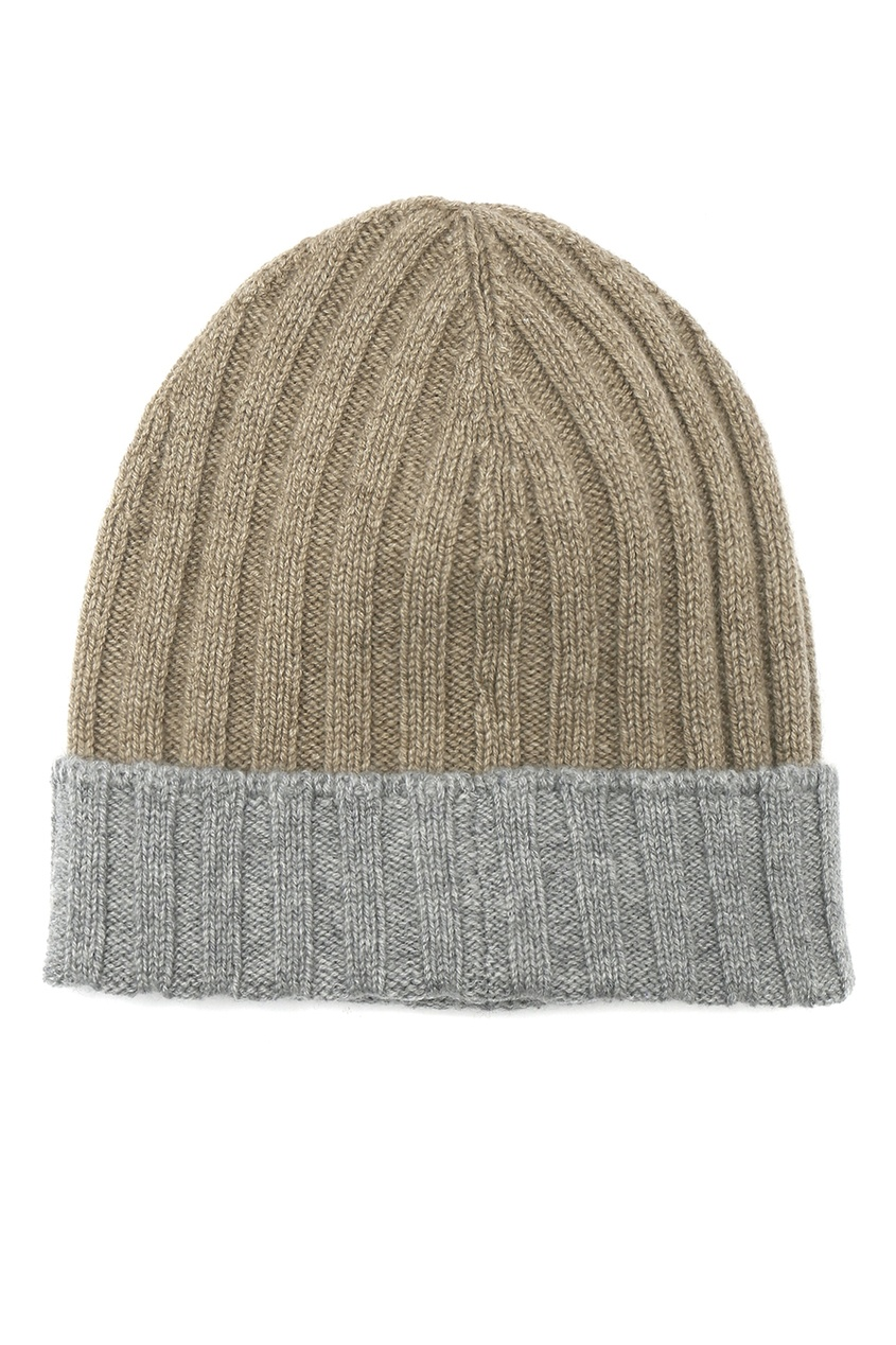 мужская шапка viadeste, коричневая