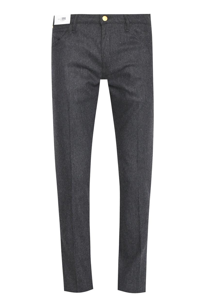 мужские шерстяные брюки pt05, серые