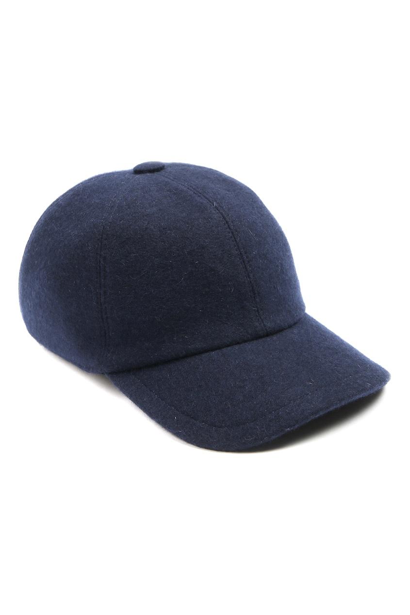 мужская бейсболка fedeli, синяя