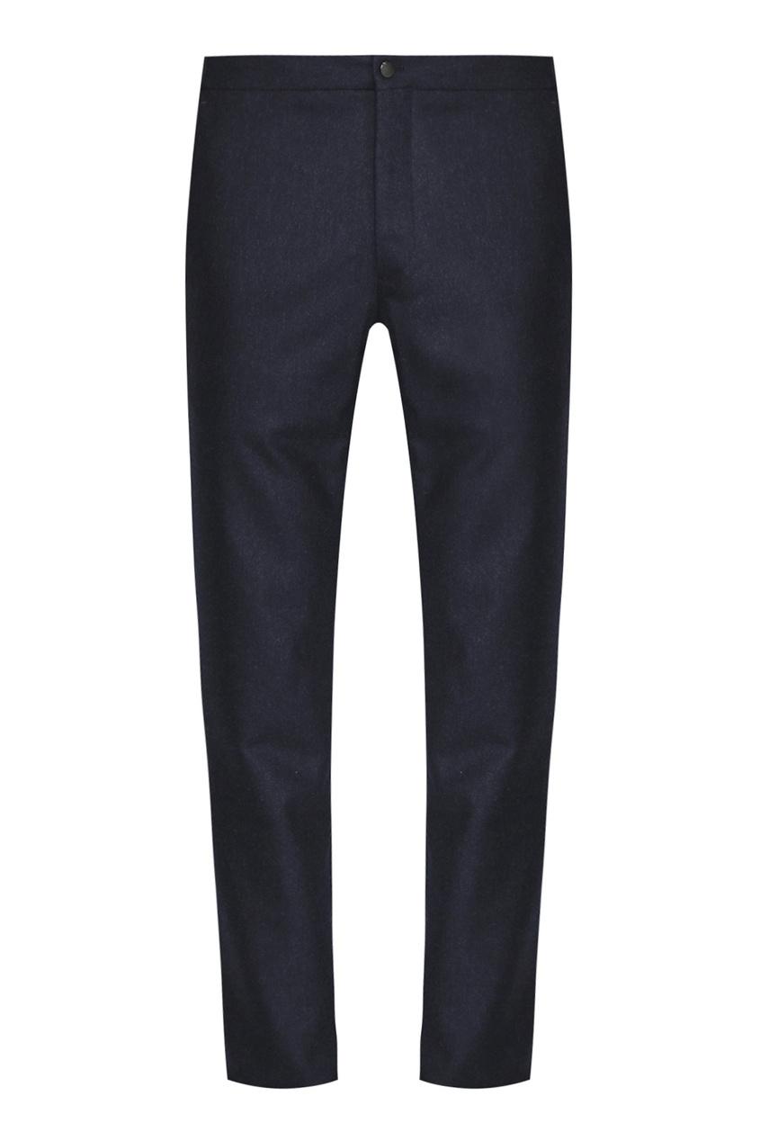 мужские прямые брюки incotex, синие