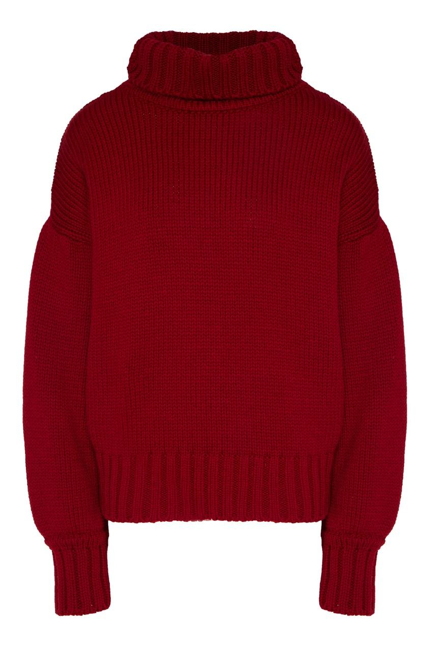 женский шерстяные свитер laroom, красный