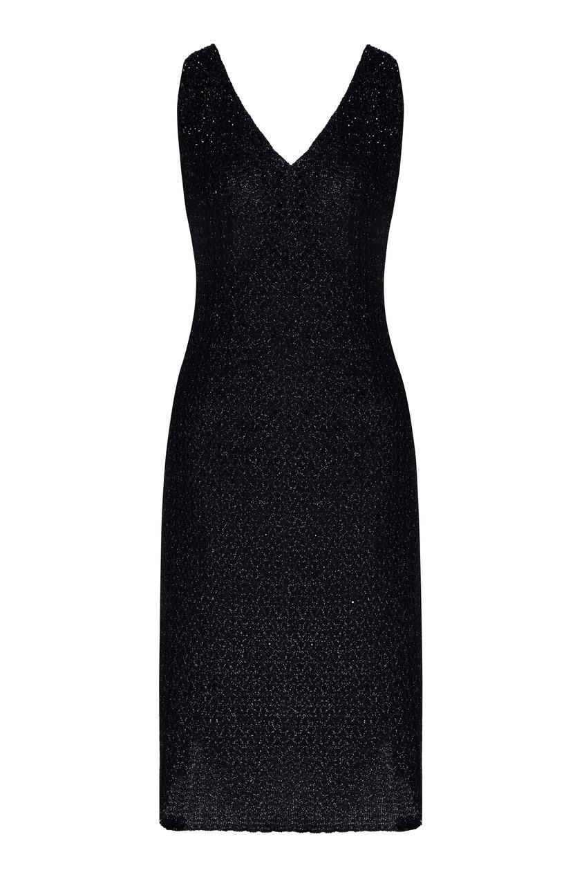 женское платье мини st. john, синее