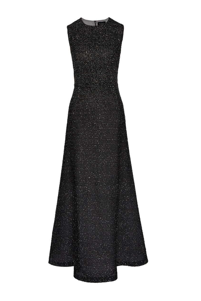 женское платье st. john, черное