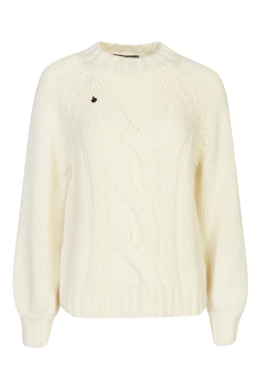 женский шерстяные свитер bosco fresh, белый