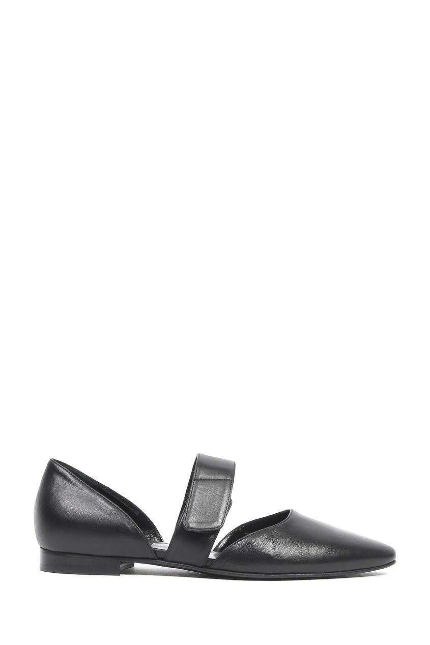 женские балетки marina rinaldi, черные