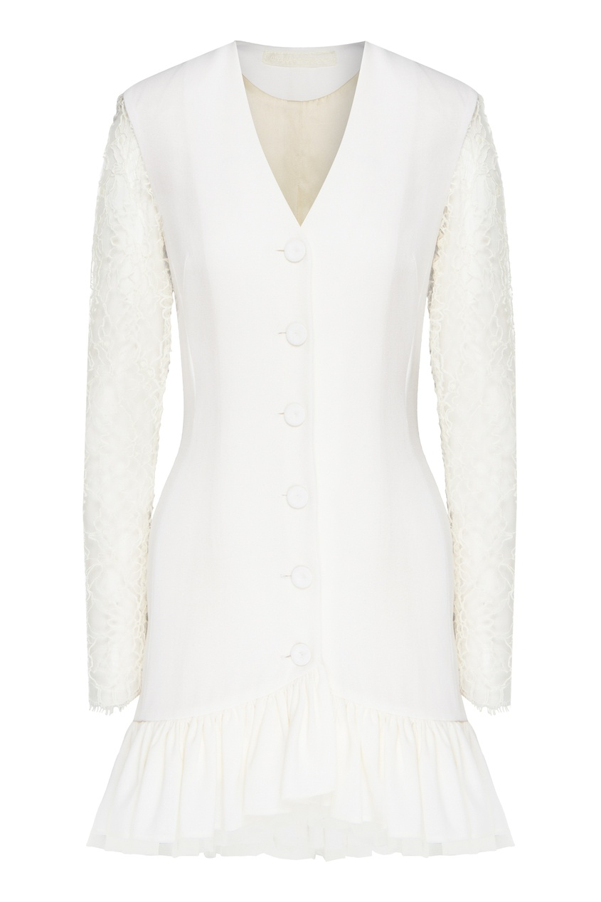 женское платье ulyana sergeenko, белое