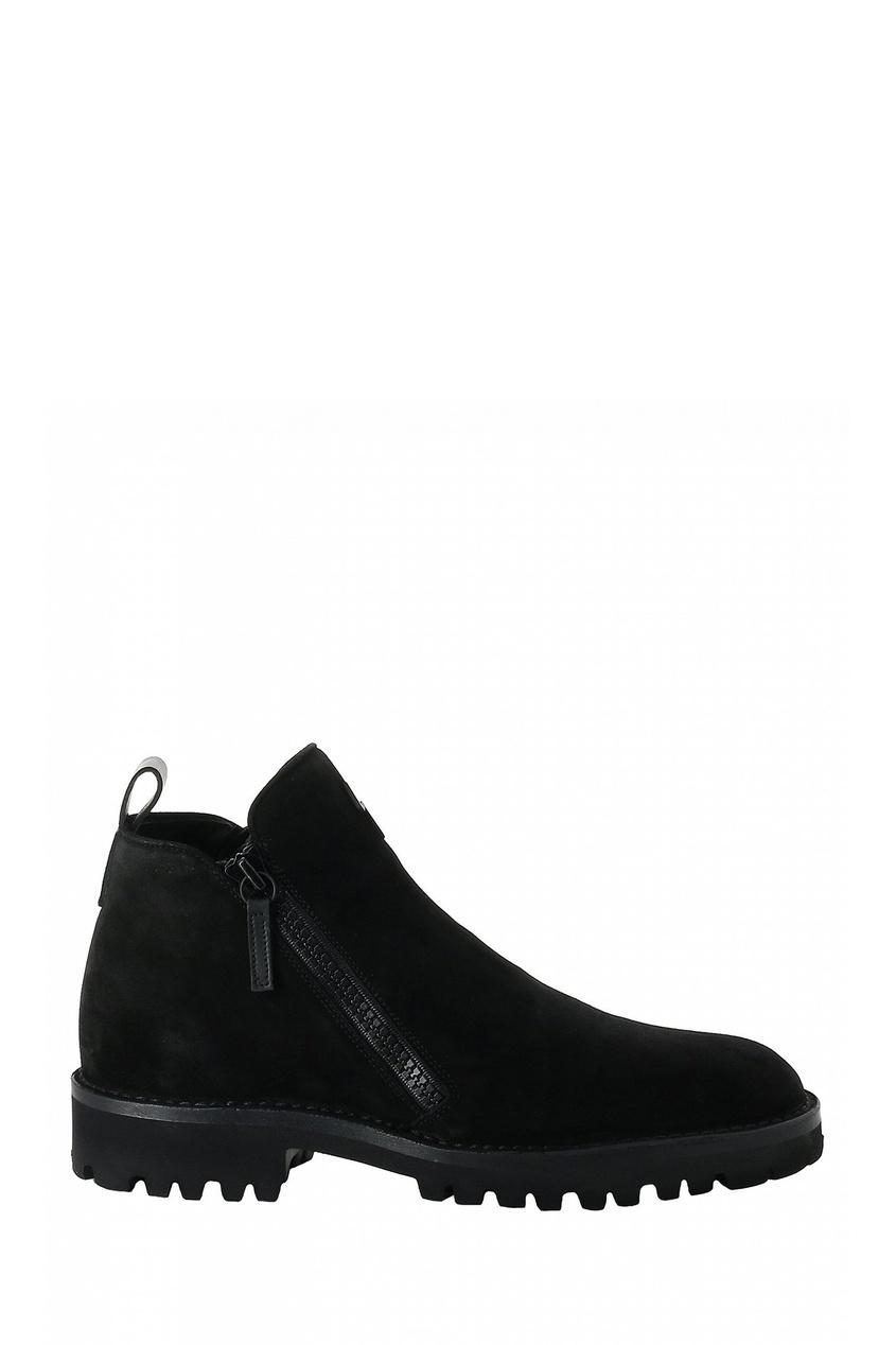 мужские ботинки giuseppe zanotti design, черные