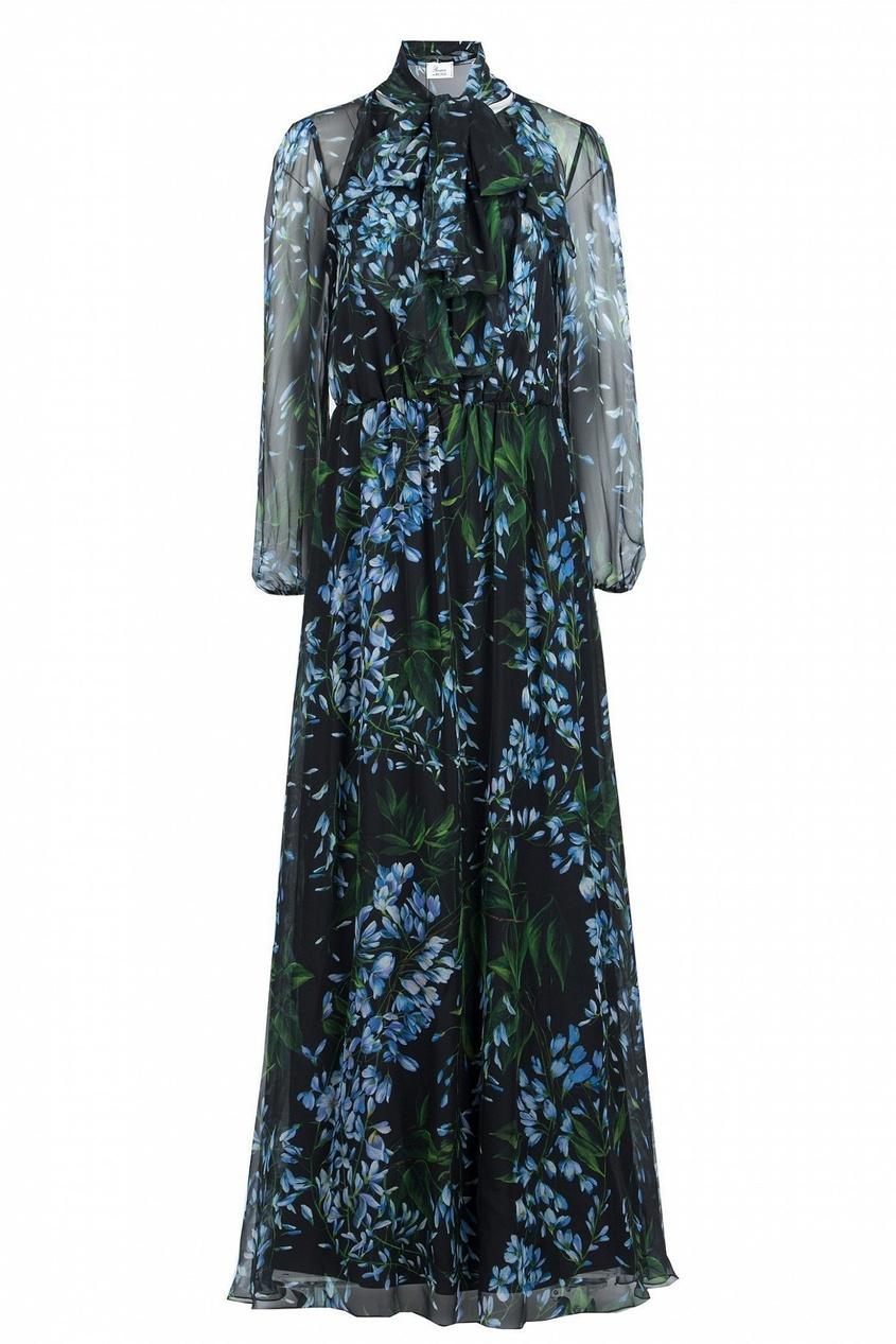 женское платье макси blumarine, черное