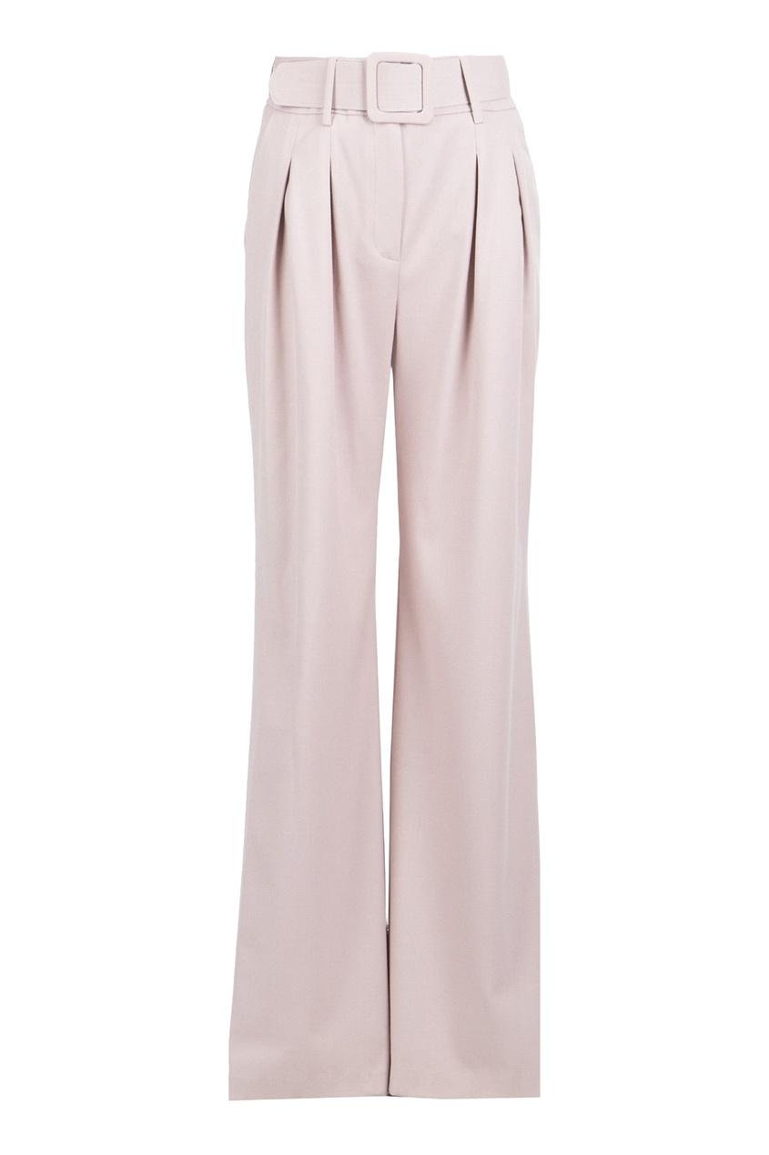 женские брюки blumarine, розовые
