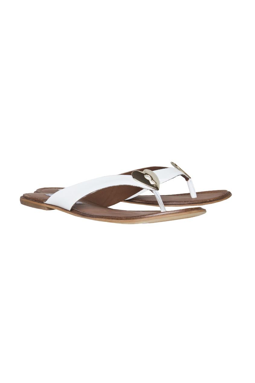 Diane von Furstenberg Кожаные сандалии Kyra