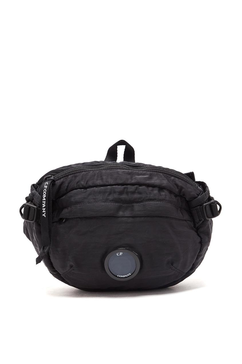 мужская сумка c.p. company, черная
