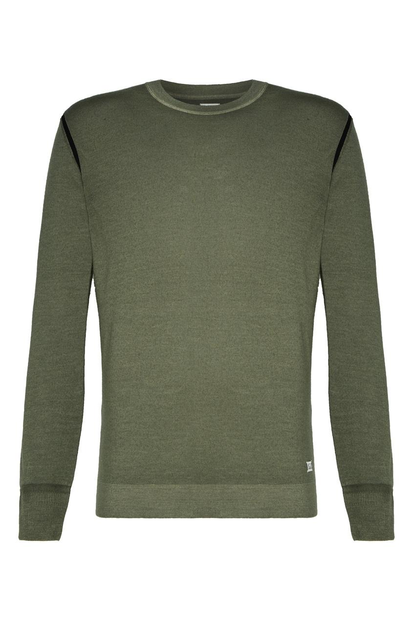 мужской свитер c.p. company, зеленый
