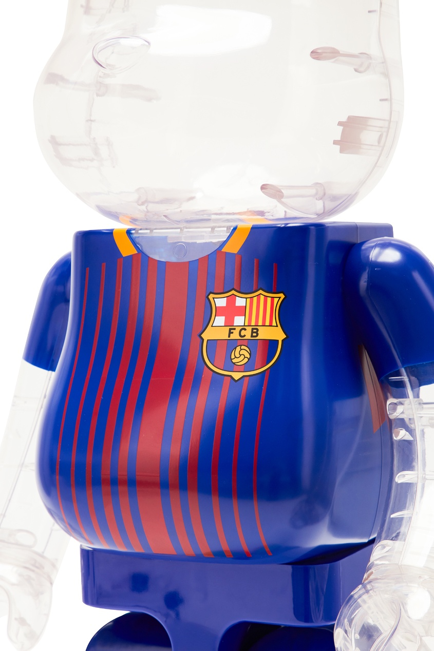 Статуэтка для интерьера Bearbrick FC Barcelona 1000% от Medicom Toy